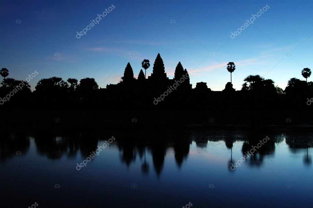 Angkor Wat at Dawn