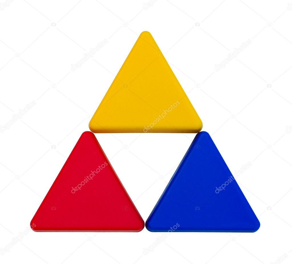 Isolated colorful triangles