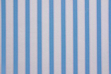 Vertically striped wallpaper