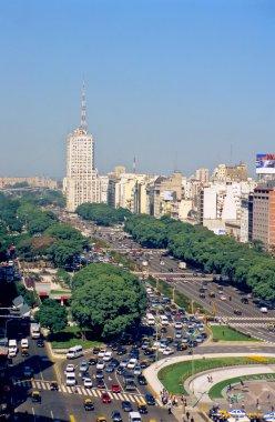 Avenue 9 de Julio in Buenos Aires