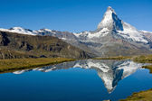 Photo The Matterhorn with Stelisee