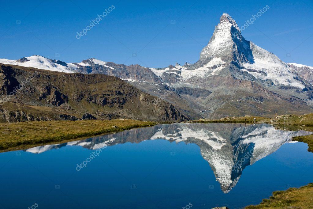 The Matterhorn with Stelisee