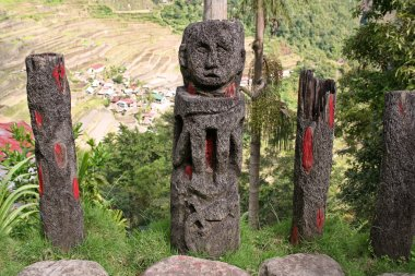 Ifugao totem batad rice terraces the philippines