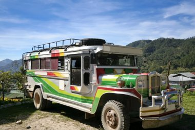 Traditional philippine jeepney