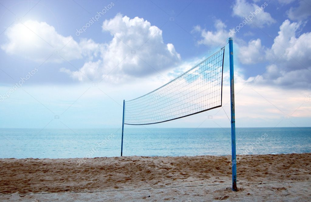 Volleyball Net — Stock Photo © CraterValley #2827933