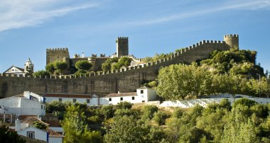 WALLS OF OBIDOS - PORTUGAL