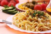 jídlo chutné těstoviny