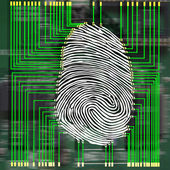 Fotografia le impronte digitali