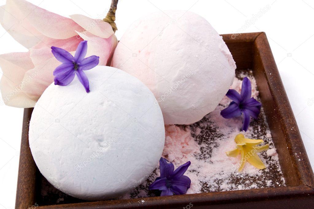 Scented Bath Powders