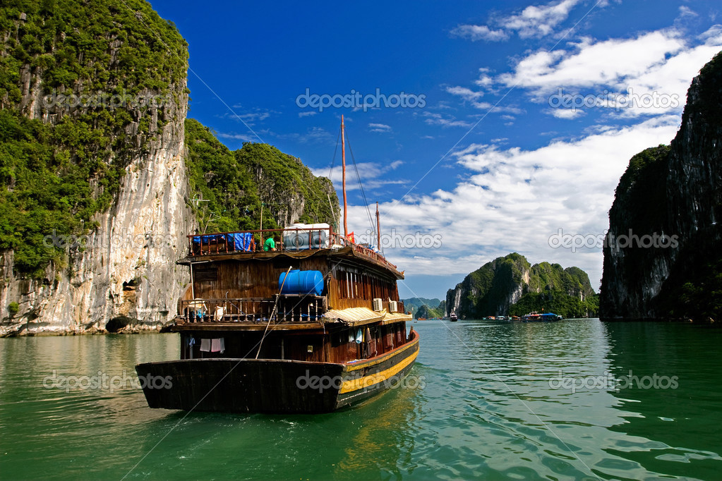 Halong Ha Long Bay ,vietnam