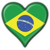 Brazilian button flag heart shape