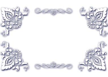 Elegant card frame