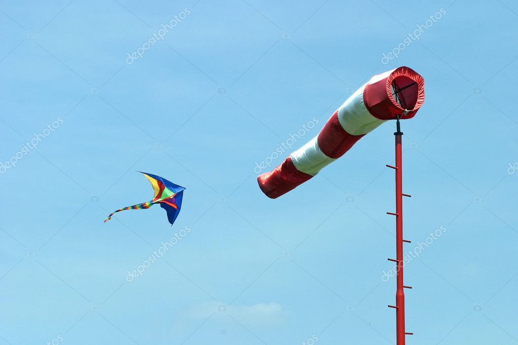 Wind and kite