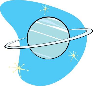 Retro Planet Neptune