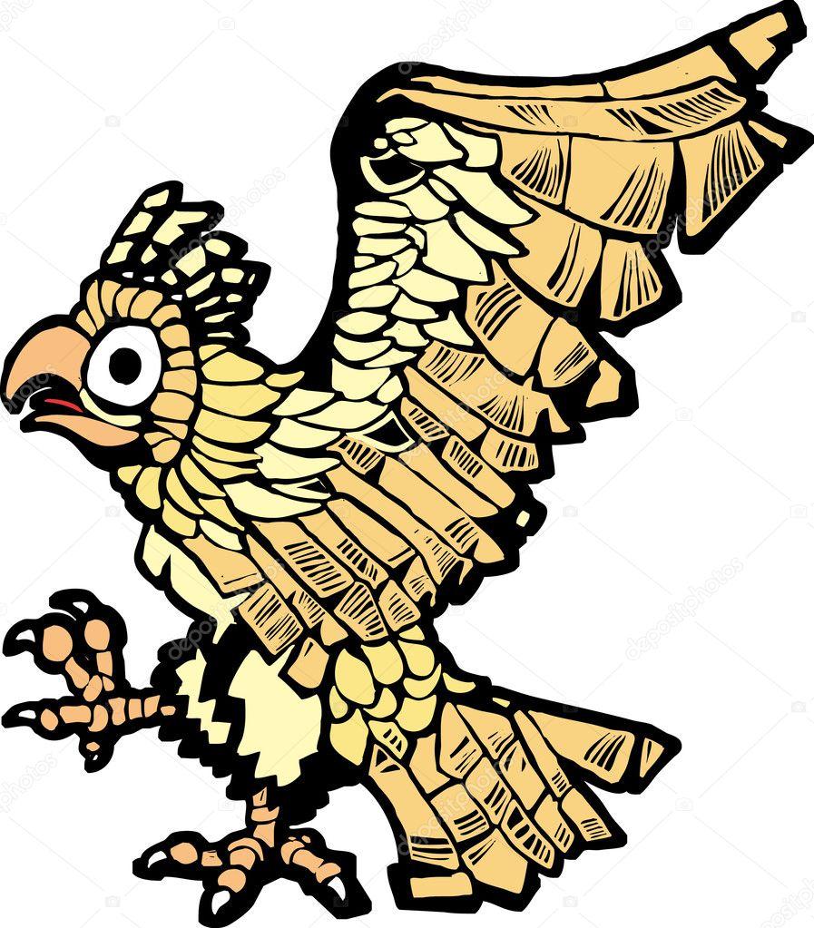 imágenes aguila azteca Águila azteca vector de stock