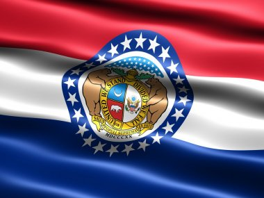 Flag of the state of Missouri