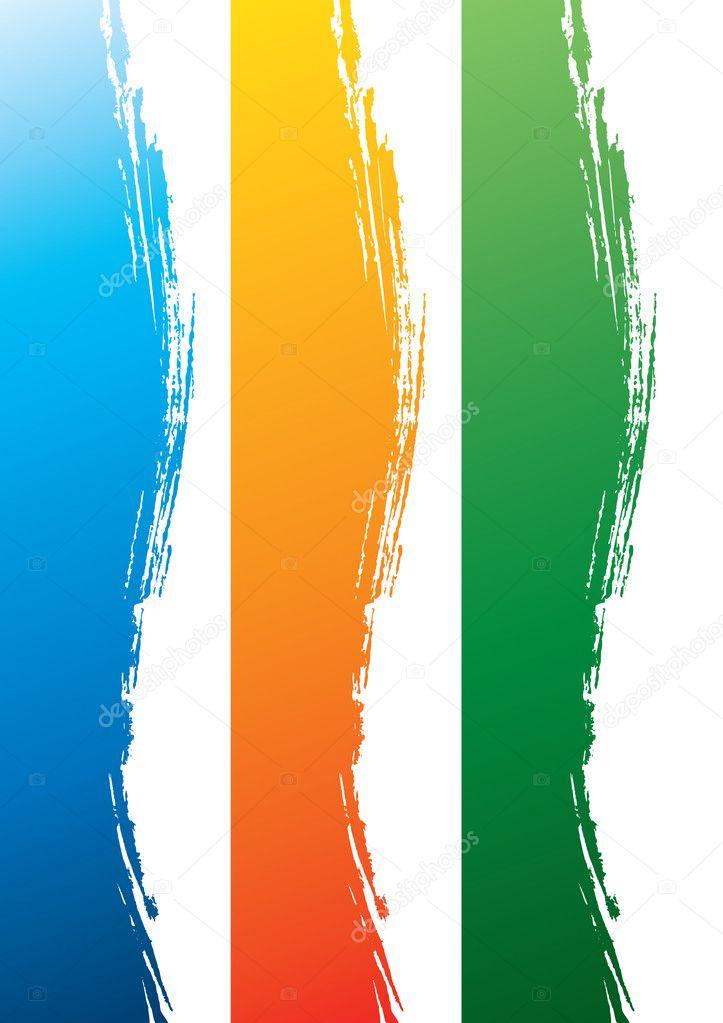 Side Borders — Stock Vector © GNBDesigns #2854007