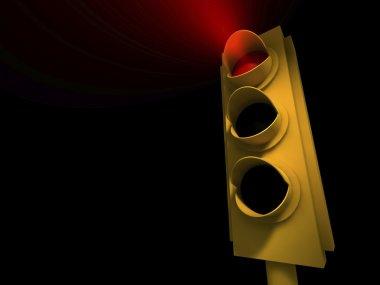 Traffic Light - red light