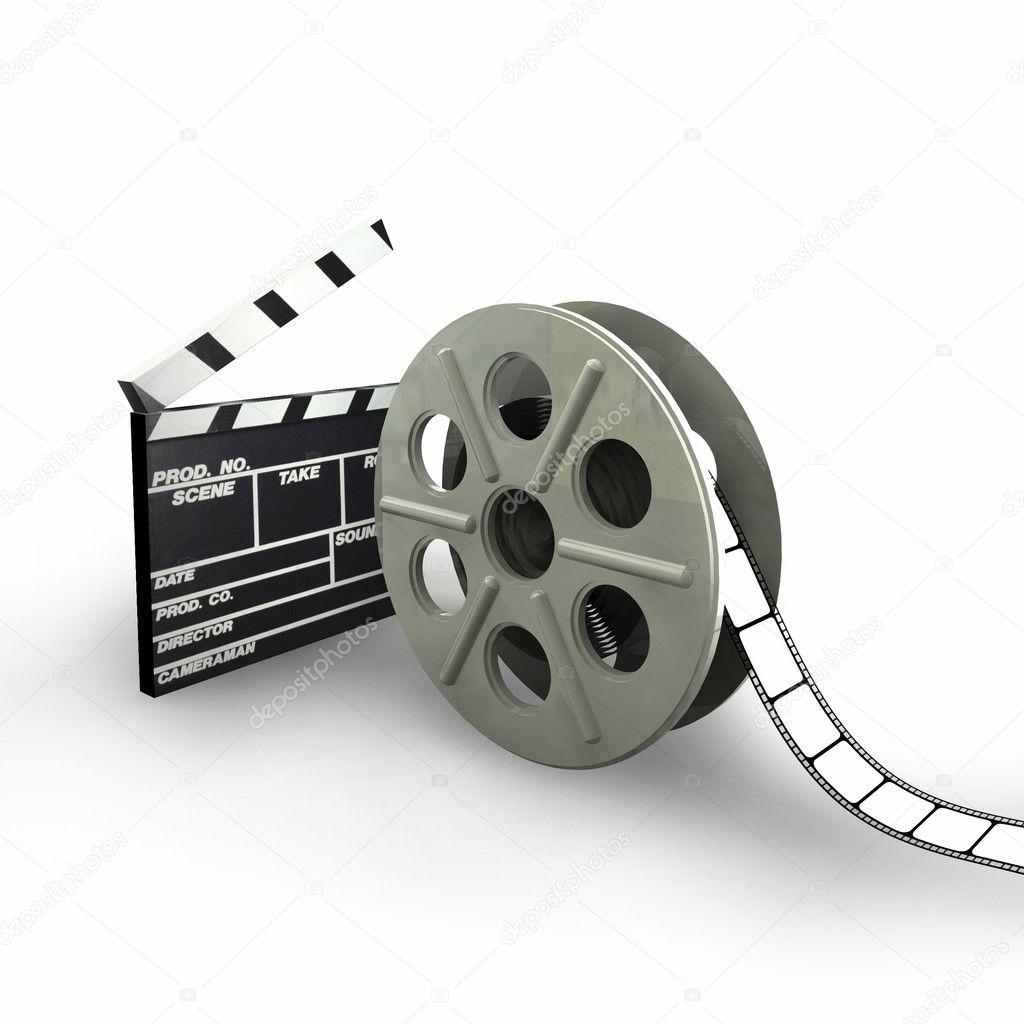 Film Reel — Stock Photo © GNBDesigns #2866169 Кинокамера