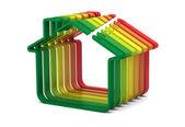 Fotografie Gebäude-Energie-Leistung-Skala