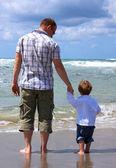 Fotografia padre e figlio