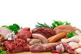 míchané syrové maso