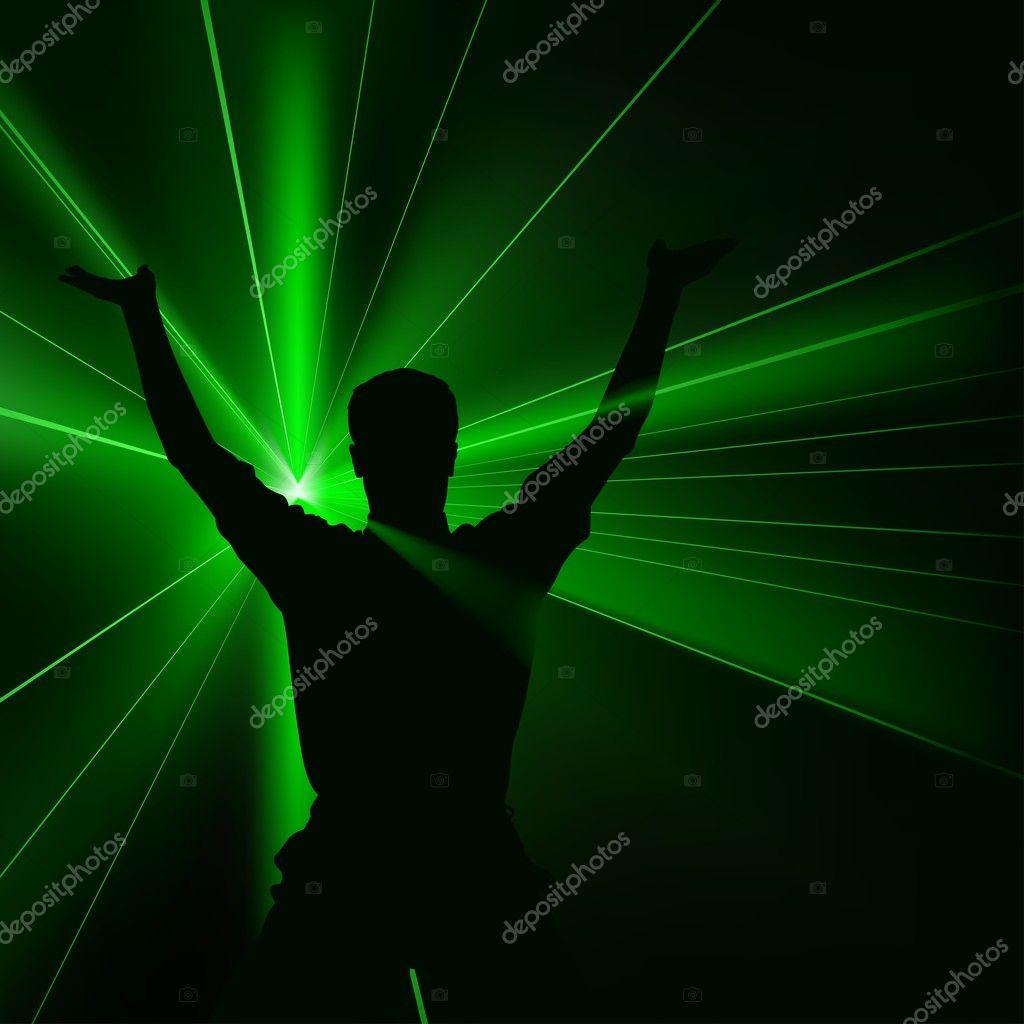 Green Laser Show