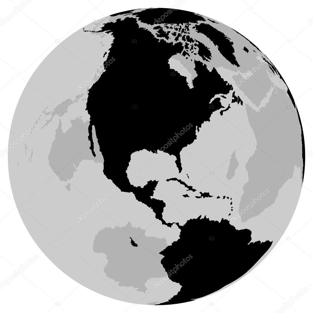 Earth - USA Canada