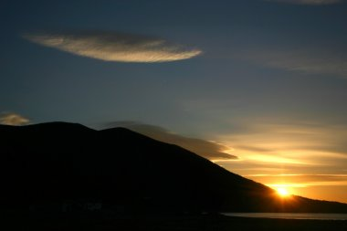 Sea dawn.