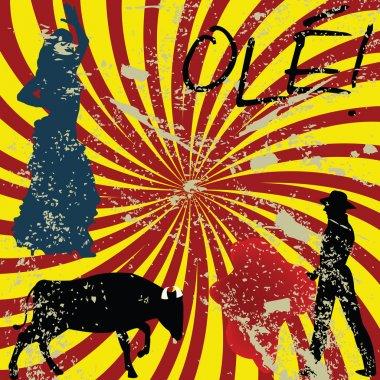 Grunge Spanish concept