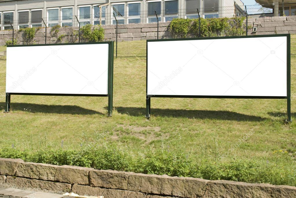 Big Blank Outdoor Billboards
