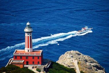 Capri lighthouse Italy