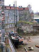 Fényképek hajó-karbantartási