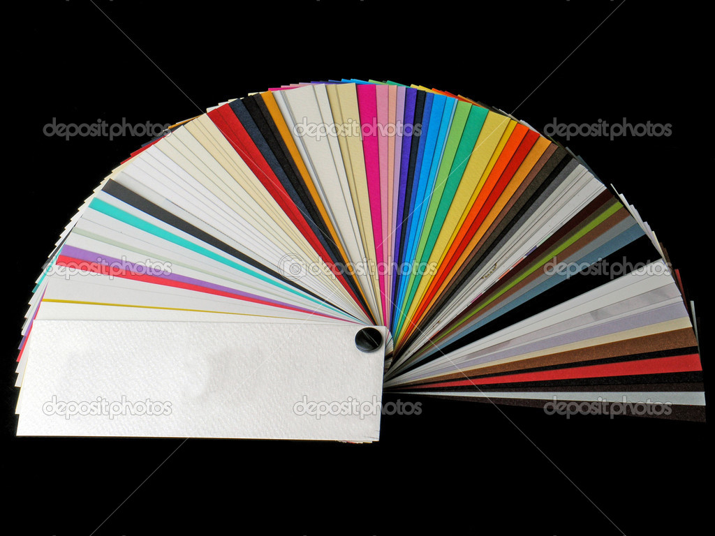 Paper samples for business cards stock photo adamr 2926499 colored samples of different papers on white background business cards photo by adamr reheart Image collections
