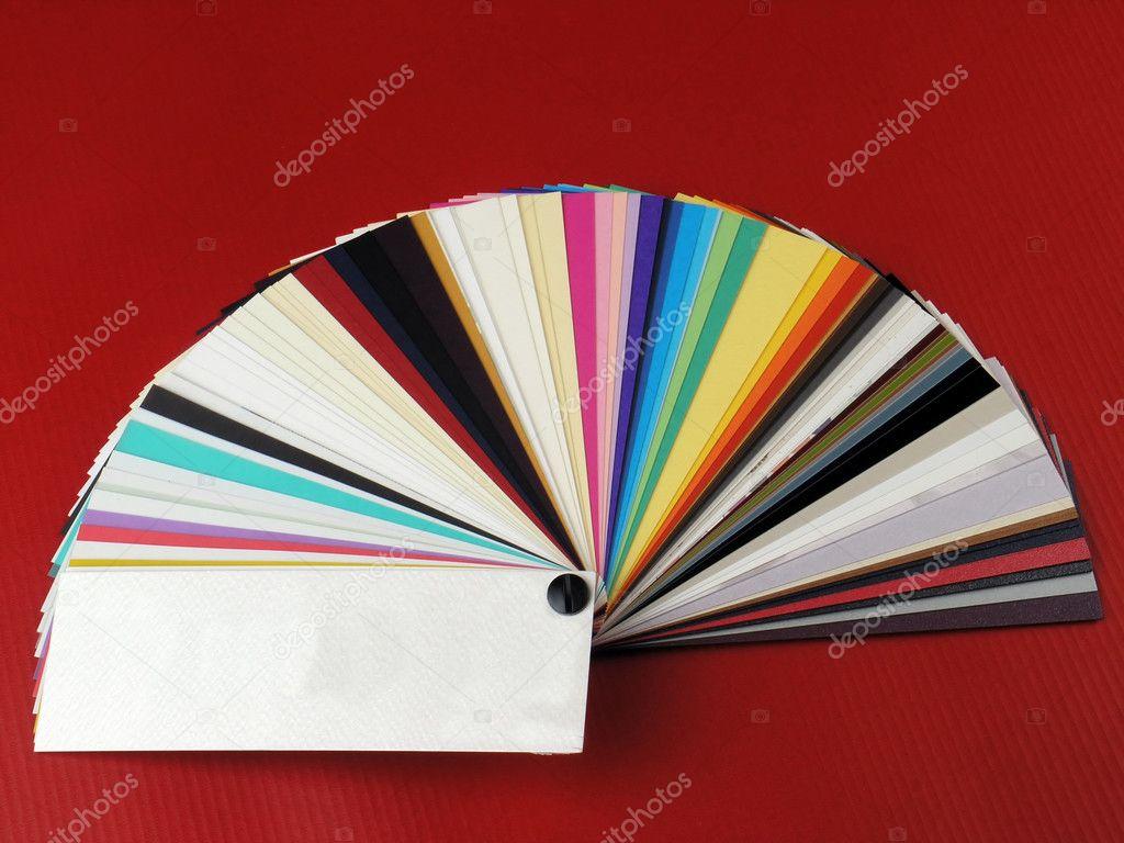 Papier Muster Für Visitenkarten Stockfoto Adam R 2926529