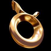 Fotografie 3D znamení zvěrokruhu - býk