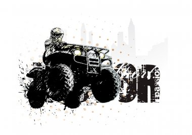 Motor sport background 2