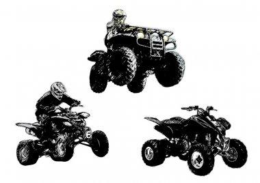Motor sport trio