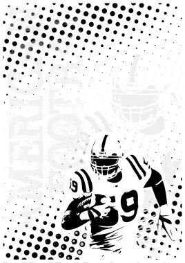 American football background 7