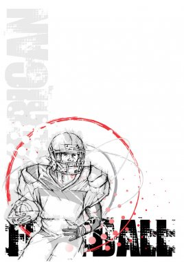 American football background 5