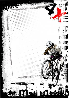 Dirty bike background
