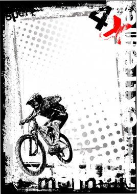 Dirty bike background 2