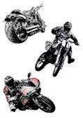 Motocykly trio