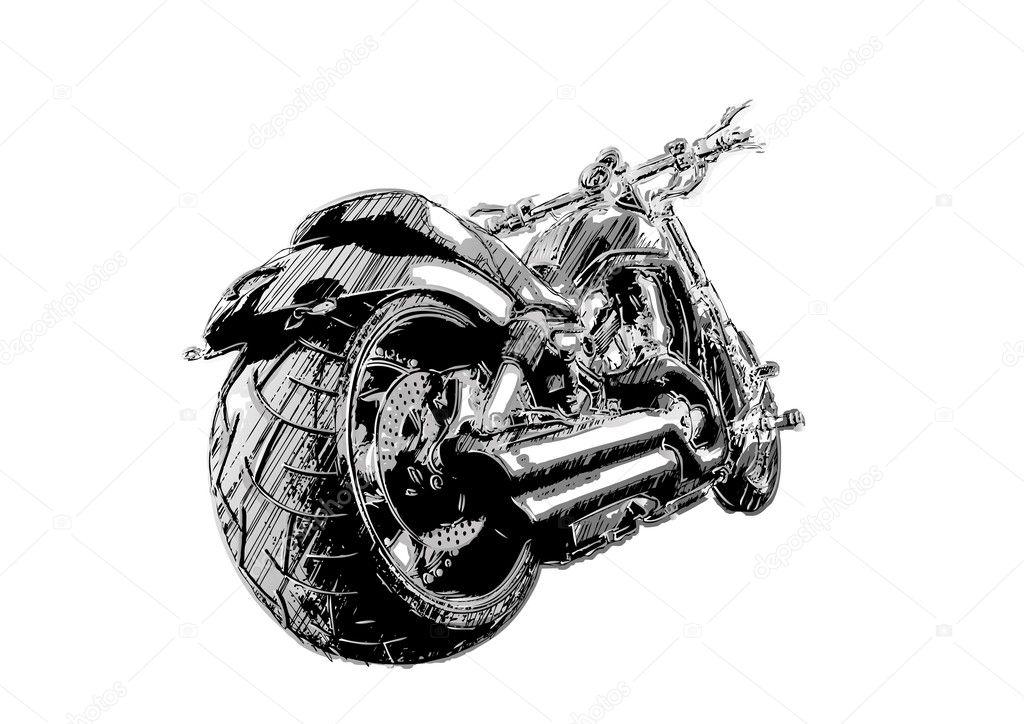 Harley Davidson Stock Vectors Royalty Free Harley Davidson