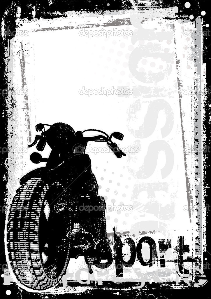 motorcycle poster background � stock vector 169 ranker666