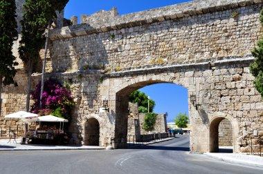 Rhodes old town.