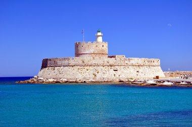 Fort Saint Nicholas, Rhodes, Greece.
