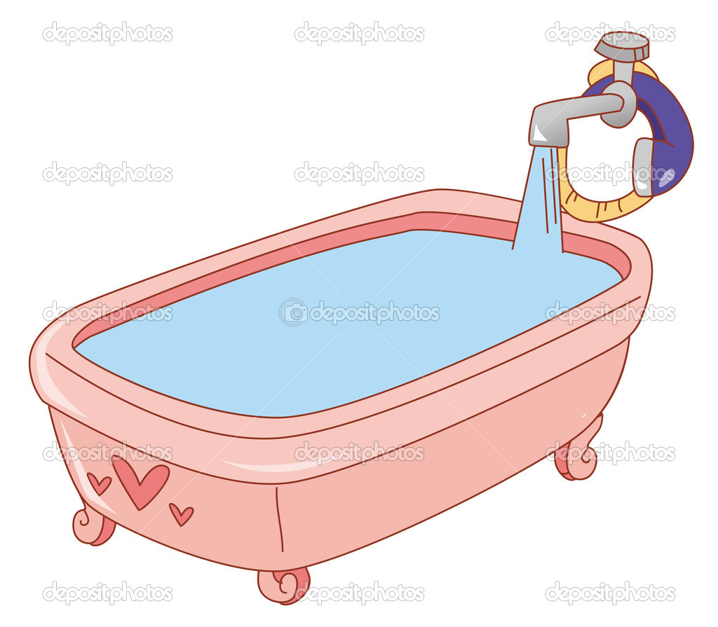 Vasca da bagno — Foto Stock © realrocking #3398417