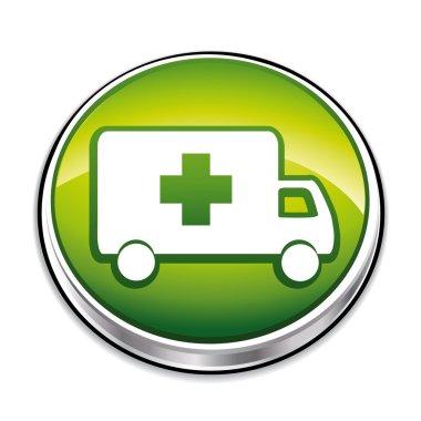 Green ambulance button