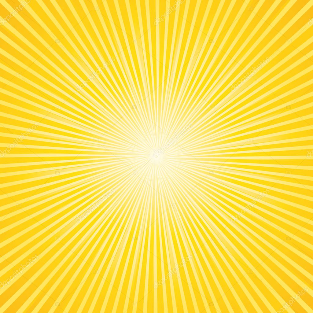 Beautiful sunburst background